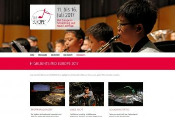 Mideurope Musikfestival Webseite