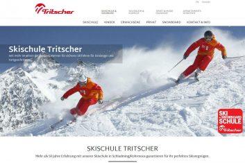 Tritscher Skischule, Skiverleih, Bikeverleih und Appartements Webseite