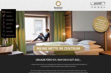 Stadthotel Brunner Webseite